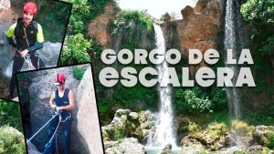 Barranquismo Gorgo de la Escalera valencia